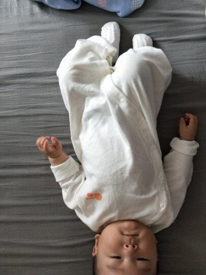 贝贝怡婴儿衣服新生儿连体衣和尚服系带绑带哈衣婴儿内衣 粉色(升级款) 新生儿/身高52cm 晒单图