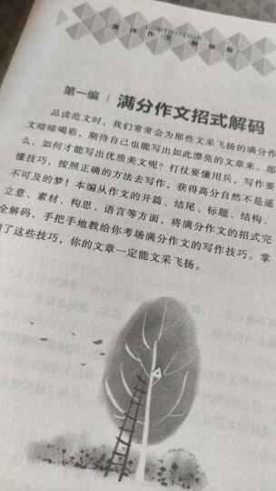 中学生中考模板作文大全 黄冈作文 班主任推荐初中生作文书七八九789年级适用满分作文大全 晒单图