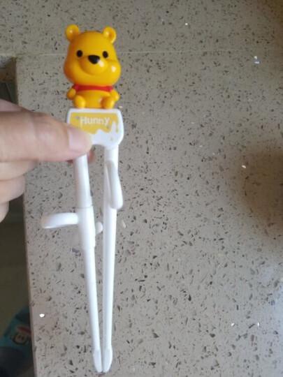 【韩国进口】迪士尼(Disney)维尼学习筷套装 儿童筷子 宝宝练习筷子 3D训练筷餐具玉米纤维可降解 配收纳盒 晒单图