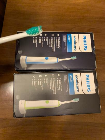 飞利浦(PHILIPS) 电动牙刷 成人声波震动(自带刷头*1) 清新洁净 蓝色 HX3216/13(新老包装随机发货) 晒单图