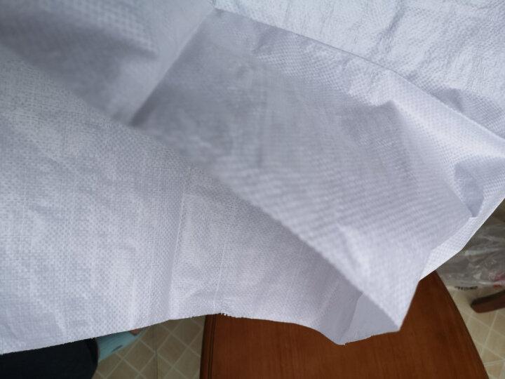 优大叔半透编织袋白色搬家收纳袋 蛇皮袋化肥袋 加厚大米袋电商打包袋 35*50覆膜(小袋子2个装)薄款每平方48g 晒单图
