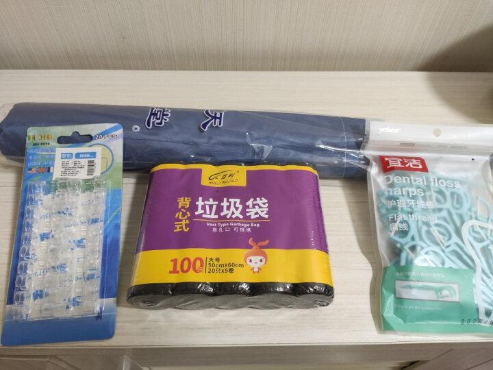 宜洁 牙线棒一次性护牙扁线牙签袋装100只装 送便携盒 Y-9832 晒单图