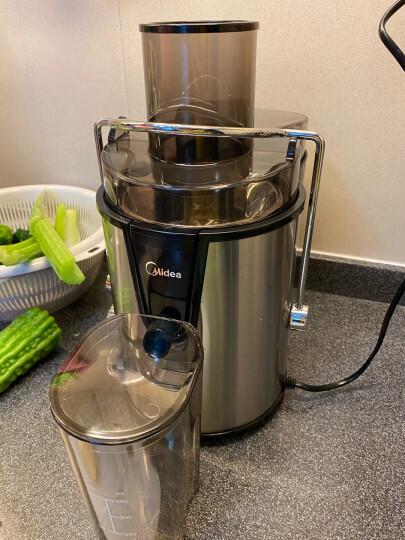 美的(Midea)原汁机 榨汁机 低速压榨果汁机 家用料理机WJS1222F 晒单图