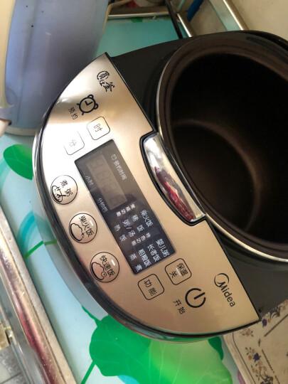 美的(Midea)电饭煲 涡轮除泡防溢锅 金属拉丝机身 圆灶釜4L电饭锅MB-WFS4057 晒单图