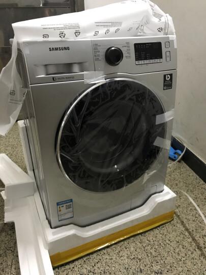 三星(SAMSUNG)9公斤全自动滚筒洗衣机 婴儿洗 智能变频WW90J3230GS/SC(XQG90-90J3230GS)(银) 晒单图