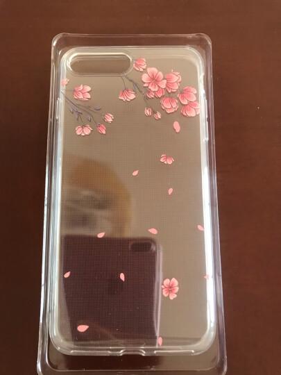 亿色(ESR)苹果8 Plus手机壳 iPhone7plus保护套5.5英寸全包透明轻薄硅胶防摔软壳超薄简约男款 零感-啫喱黑 晒单图