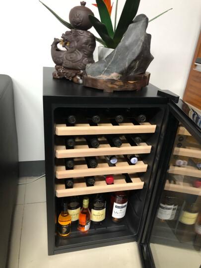 维诺卡夫 (Vinocave) SC-28A风冷电子恒温红酒柜 小型家用酒柜 镜面玻璃 晒单图