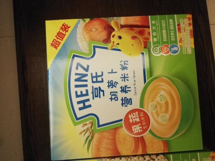 亨氏 (Heinz) 1段 婴幼儿辅食  AD钙高蛋白 宝宝米粉米糊 400g (辅食添加初期-36个月适用) 晒单图