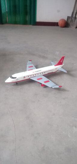 古迪儿童积木玩具拼装拼插拼图变形玩具金刚机器人大黄蜂擎天柱航天飞机客机火箭模型兼容乐高男孩益智新乐新 大型客机 晒单图