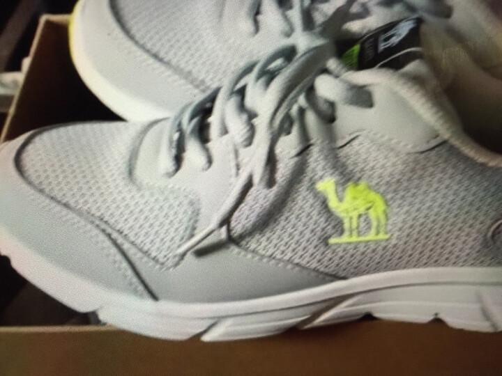 骆驼(CAMEL)运动鞋男女情侣款休闲透气跑步鞋慢跑鞋A712357085灰色42 晒单图