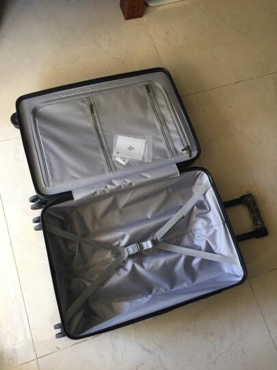 小米(MI)90分旅行箱拉杆箱 男女万向轮登机行李箱 20英寸 极光蓝 晒单图