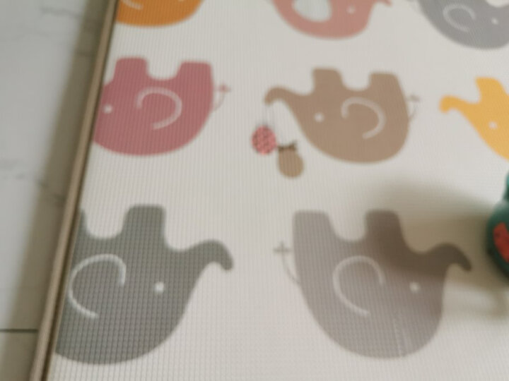 【韩国原装进口】帕克伦(Parklon)xpe爬行垫加厚地垫儿童爬爬垫 【特价】200x150x1.0cm小企鹅-单面 200x180x1.0cm 晒单图