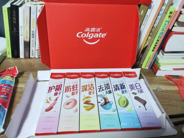 高露洁(Colgate) 便携式旅行套装 (备长炭深洁牙膏40g+护龈牙刷) (颜色随机发放) 晒单图