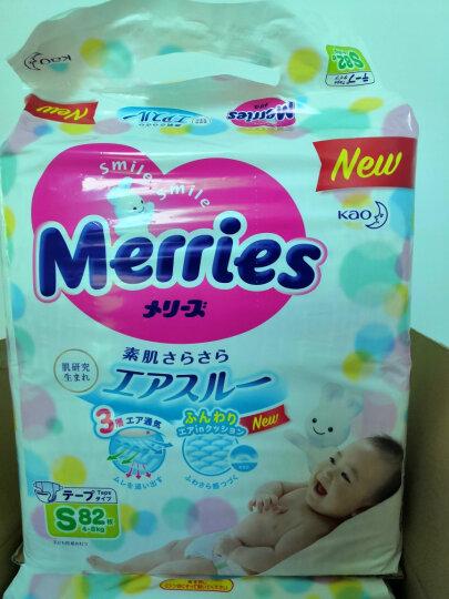 花王妙而舒Merries婴儿学步裤 M58片(6-11kg)中号拉拉裤尿不湿(日本工厂直供) 晒单图