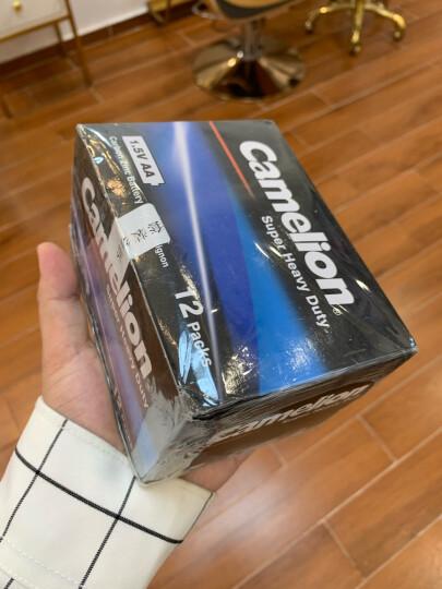 飞狮(Camelion)碳性电池 干电池 R20P/D/大号/1号 电池 4节 燃气灶/热水器/收音机/手电筒 晒单图