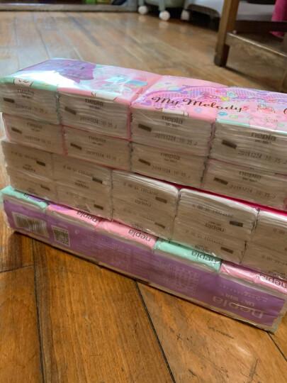 妮飘(nepia)手帕纸炫酷黑郁薄荷系列迷你3层10抽*10包*4条纸巾?有香型 晒单图
