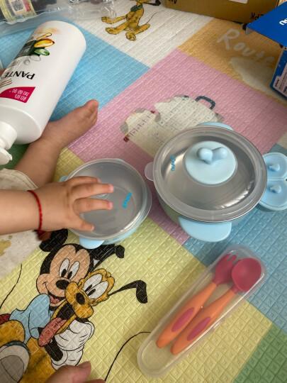 樱舒(Enssu)婴儿辅食碗儿童宝宝餐具碗研磨碗婴儿辅食剪刀ES3000(黄白两色随机发) 晒单图
