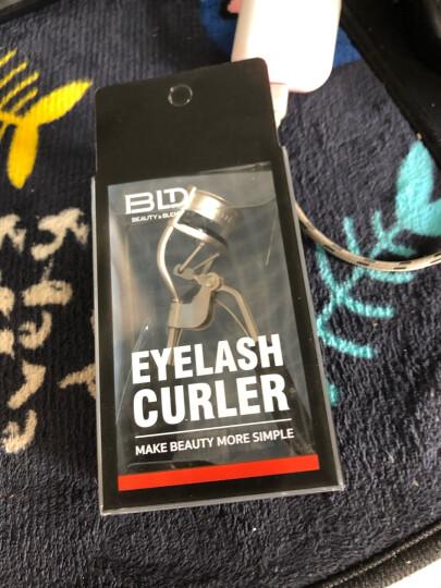 贝览得BLD睫毛夹不锈钢假广角睫毛器防滑垫胶假睫毛镊子 晒单图