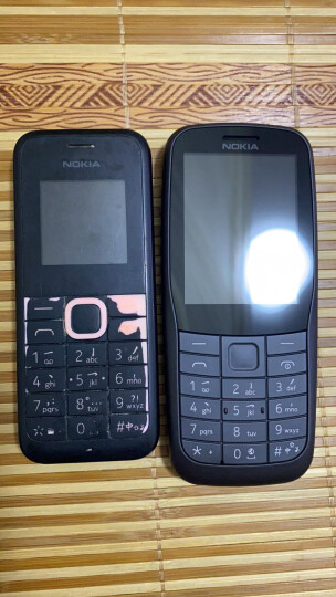 诺基亚(NOKIA)新105 黑色 直板按键 移动联通2G手机 双卡双待 老人手机 学生备用功能机 晒单图