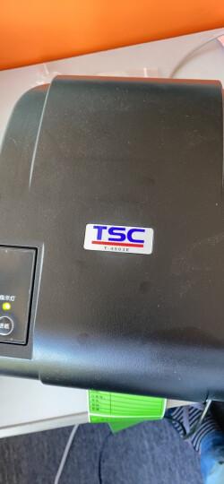 TSC条码打印机 T4503E/T4502E/T300A标签打单机 热转印不干胶票据快递电子面单打印  T-4503E【300dpi】 晒单图