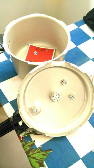 双喜压力锅世纪装铝合金明火燃气炉电磁炉通用迷你高压锅快锅汤煲16 18 20 22 24 26cm 双喜26CM/8.5L/8-9人使用 晒单图