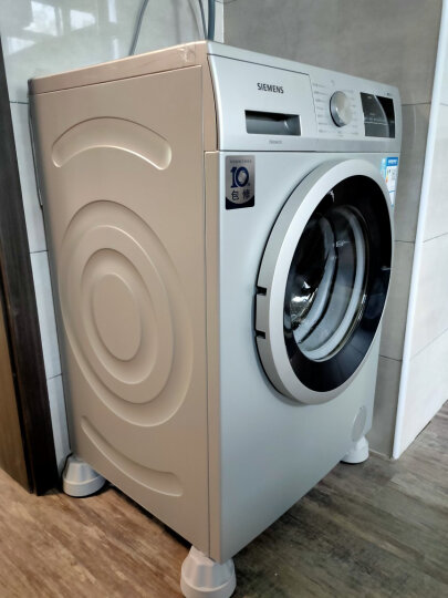 西门子(SIEMENS) 8公斤 变频滚筒洗衣机 防过敏程序  快洗15分 高温筒清洁 XQG80-WM10N1C80W 晒单图