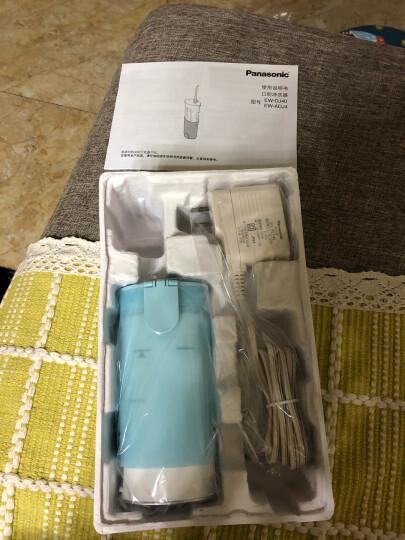 松下(Panasonic)冲牙器 洗牙器 水牙线 非电动牙刷  全身水洗 便携式设计 EW-ADJ4-A405 晒单图