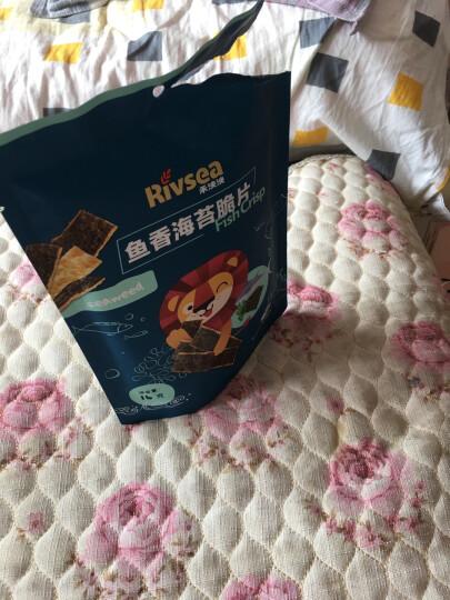 禾泱泱(Rivsea)宝宝零食脆片QQ鱼棒儿童零食夹心烘焙非油炸30g 晒单图