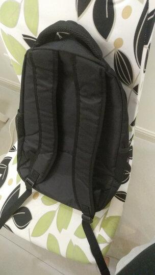 爱华仕(OIWAS)双肩包商务 时尚简约电脑包14英寸男女包 4082黑色 晒单图