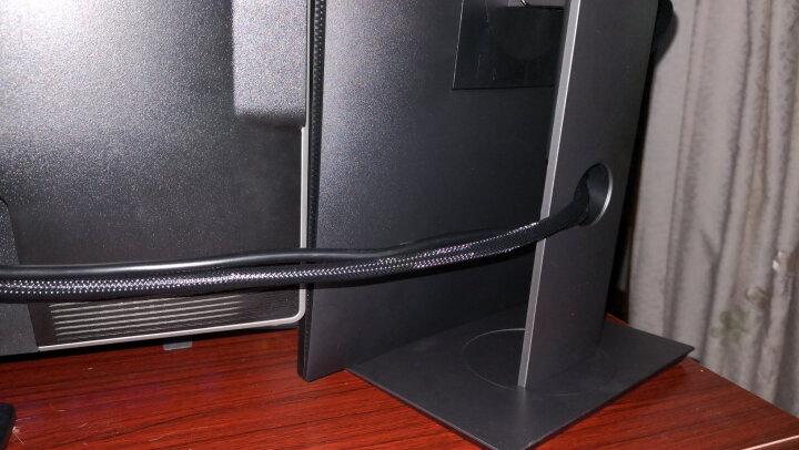 秋叶原(CHOSEAL)镀银HDMI数字高清线发烧级2.0电视电脑投影仪机顶盒游戏机连接线10米 DH800-10M 晒单图