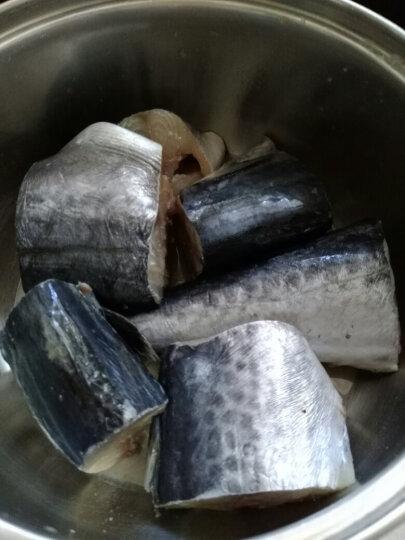 【新鲅鱼上市 空运直达】丰度 青岛本地活冻现切鲅鱼段 1000g 袋装 马鲛鱼海鱼海鲜生鲜鲅鱼 晒单图