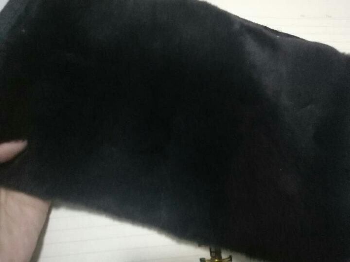 俞兆林(YUZHAOLIN) 俞兆林獭兔毛羊毛保暖护腰带冬季护腰护肚暖胃暖宫腰带成人男女 獭兔护腰 XL 晒单图