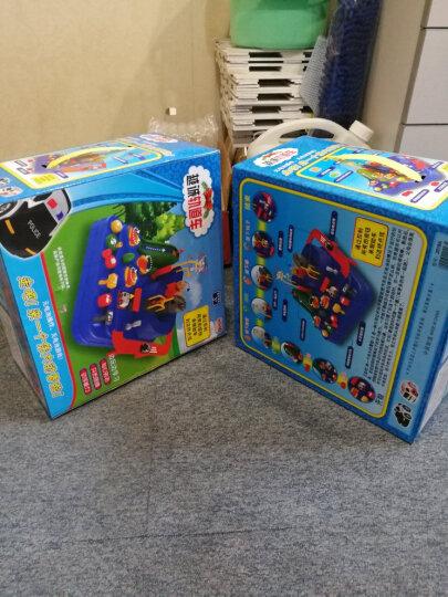 盟石汽车闯关大冒险轨道车停车场创意火车益智儿童玩具套装男孩礼物3-6岁 擎天柱单件套装(战枪) 晒单图