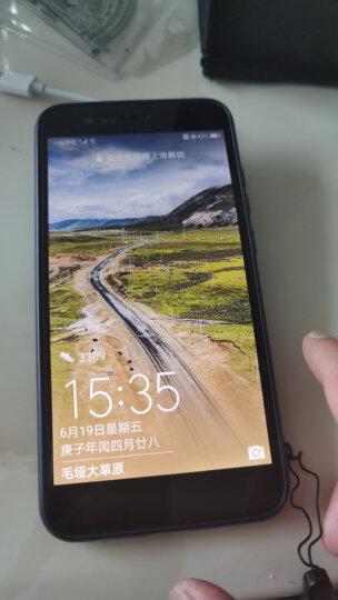 YOMO 华为荣耀V9钢化膜 手机膜 保护膜 全屏覆盖3D等离子高清防爆玻璃贴膜 全屏幕覆盖-黑色 晒单图