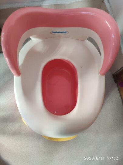 世纪宝贝(babyhood)儿童马桶宝宝坐便器婴儿便盆 幼儿男女小孩尿盆 粉色 BH-114 晒单图