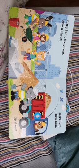 Bizzy Bear: Dinosaur Safari  进口新奇特玩具书 晒单图