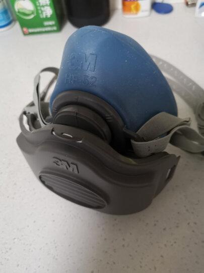3M3200升级版防尘面具工业粉尘打磨3m口罩男女 3MHF-52硅胶防尘礼盒装+30片1705滤棉 晒单图