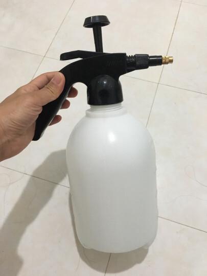 悦卡(YUECAR)喷壶 家用园艺花卉植物浇水壶 车用气压式洗车喷水壶喷雾器花洒洗车工具(2L款) 晒单图