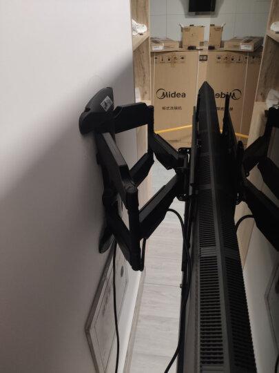 NB(55-80英寸)电视移动挂架落地视频会议推车激光电视架教学一体机电子白板小米华为荣耀支架AVA1800-70-1P白 晒单图