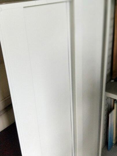 中伟矮柜钢制储物柜铁皮柜文件柜财务办公柜资料柜档案柜茶水柜玻璃上节柜 晒单图