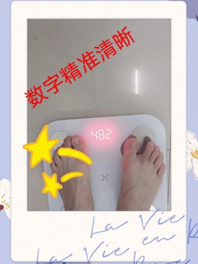 有品(PICOOC)体脂秤Mini白 电子秤体重秤 家用智能精准身体脂肪测量仪 APP蓝牙人体健康减肥称 晒单图