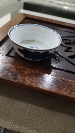 京德贵和祥手绘高温陶瓷个人杯品茗杯私家杯茶杯主人杯专用杯大杯 青花荷乐盏杯 晒单图