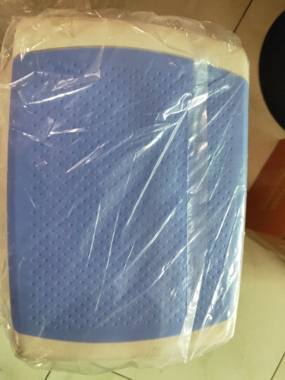 好尔(Hore)凳子 板凳 小凳子 塑料凳子中号蓝色 1个装 晒单图