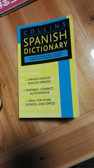 Collins Spanish Dictionary 柯林斯西班牙语字典 英文原版 晒单图