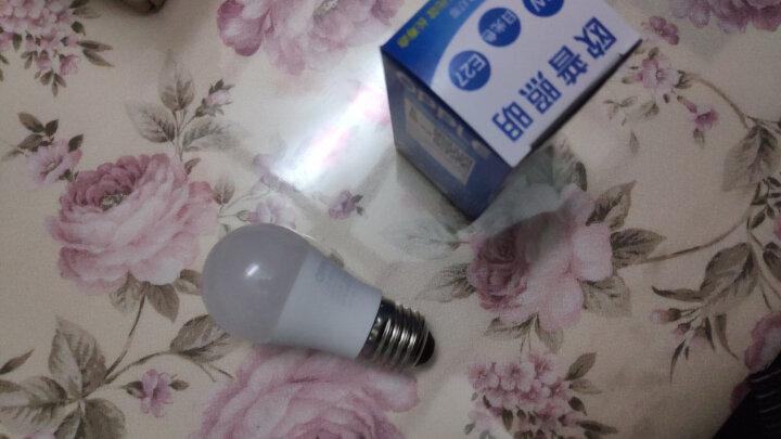 欧普照明(OPPLE) led灯泡节能大螺口家用商用大功率光源超亮E27球泡E14螺旋-XG 【单只装】3瓦 E27 螺口 白光 晒单图