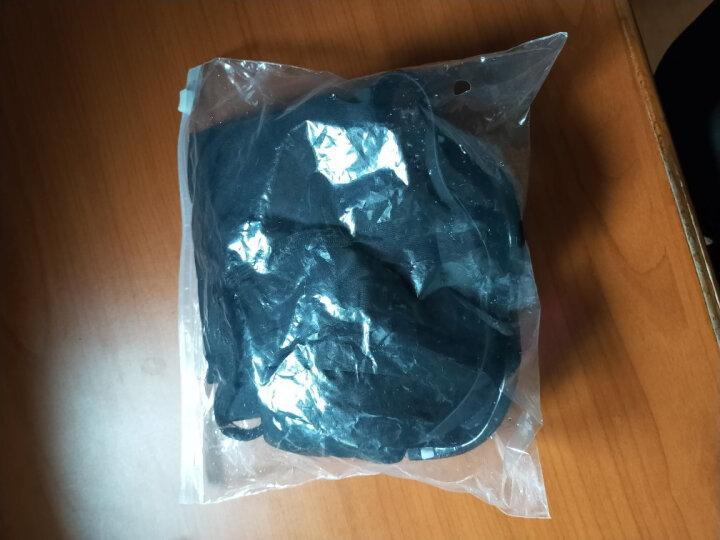 羽克(Yuke) 男士泳裤套装平角大码温泉游泳裤时尚游泳衣泳帽 200度蓝火5件套 L(建议90-100斤) 晒单图