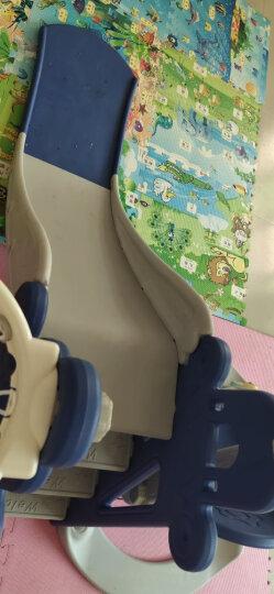 滑滑梯儿童室内玩具家用秋千组合1-3岁宝宝滑梯户外游乐园婴儿秋千生日六一儿童节礼物 【加高护栏+加长1.8米滑道】皇家蓝四合一 晒单图