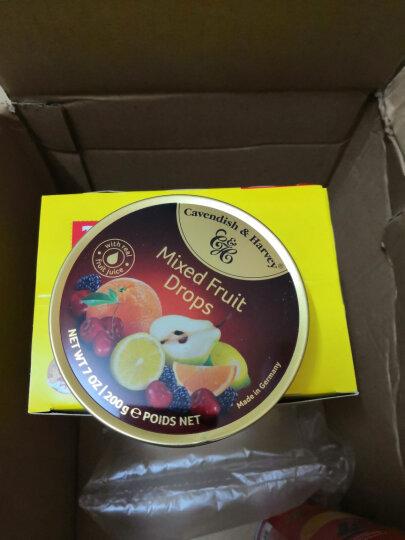 德国进口嘉云糖混合水果糖 嘉云斯硬糖婚庆喜糖铁盒糖果 柠檬橙味175g 晒单图