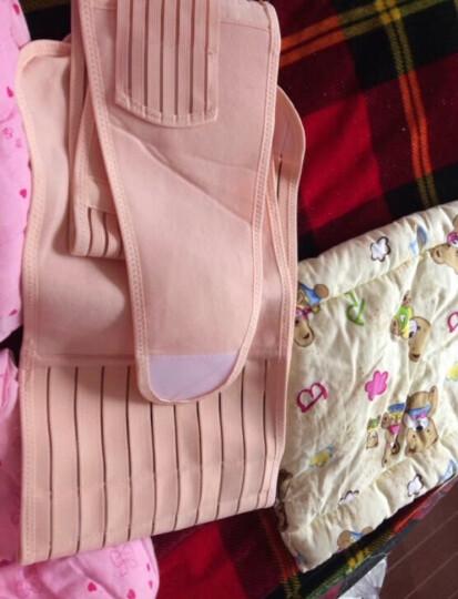磁疗产后收腹带女产妇塑身衣束腹带 孕妇托腹盆骨带顺产剖腹产束缚带束腰带 磁疗三件套 M 晒单图