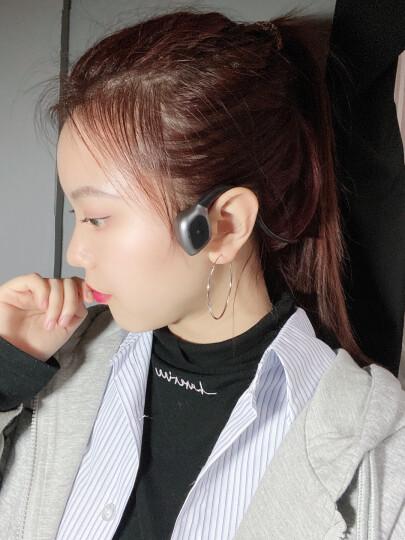 迅听(XUNTING)J31骨传导蓝牙耳机运动无线跑步耳机头戴挂耳式适用于苹果华为小米OPPO手机通用 晒单图